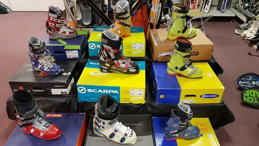 Chaussures randonnée ski