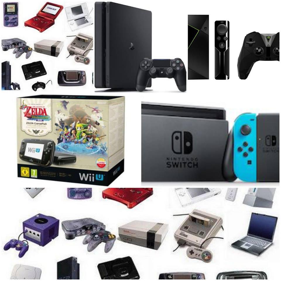 Rachats de toutes vos consoles de jeux