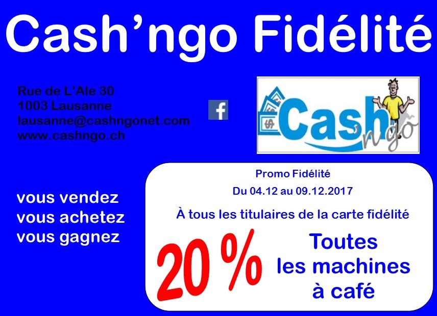 Promo Fidélité Lausanne