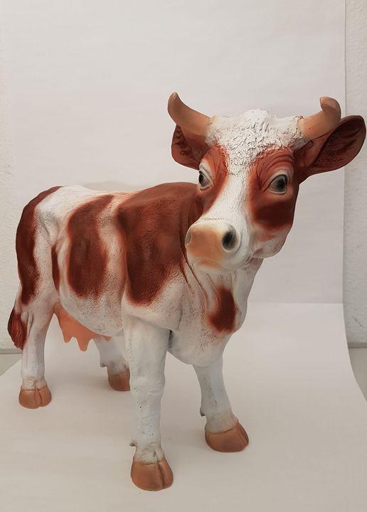 Vache déco