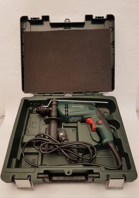 Metabo Perceuse à percussion SBE 650 Set
