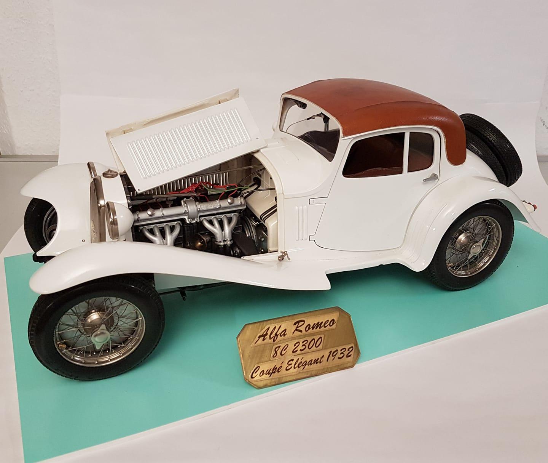 Alfa Romeo 8C 2300 Coupé élégant 1932